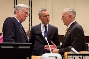 Image result for Defences in place to protect future Russia meddling - Mattis