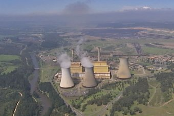 The Yallourn Power plant is operating at severely reduced capacity.