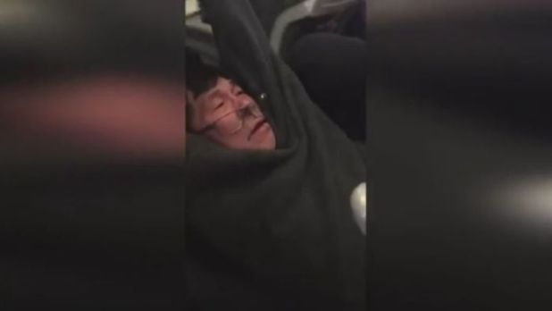Passenger forcibly removed from United Airlines flight
