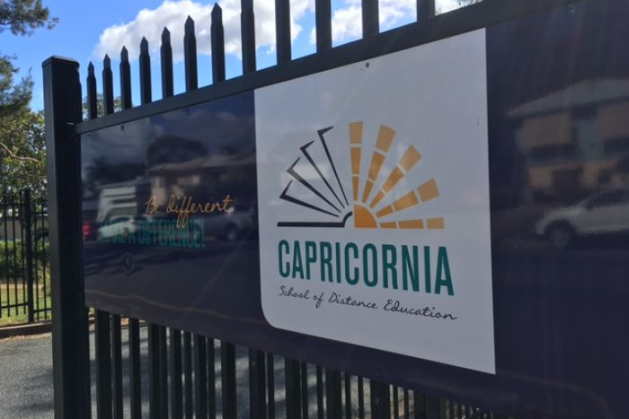 Capricornia School of Distance Education entry sign