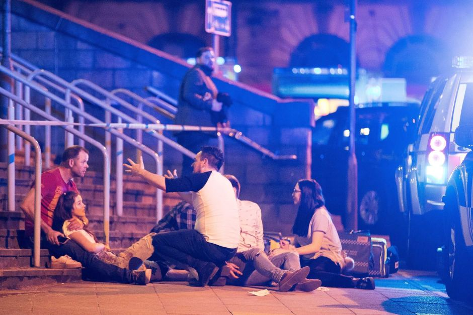 Image result for The Manchester attack pictures