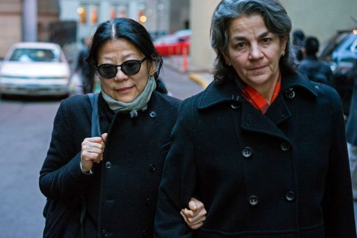 Sheri Yan leaves federal court in New York