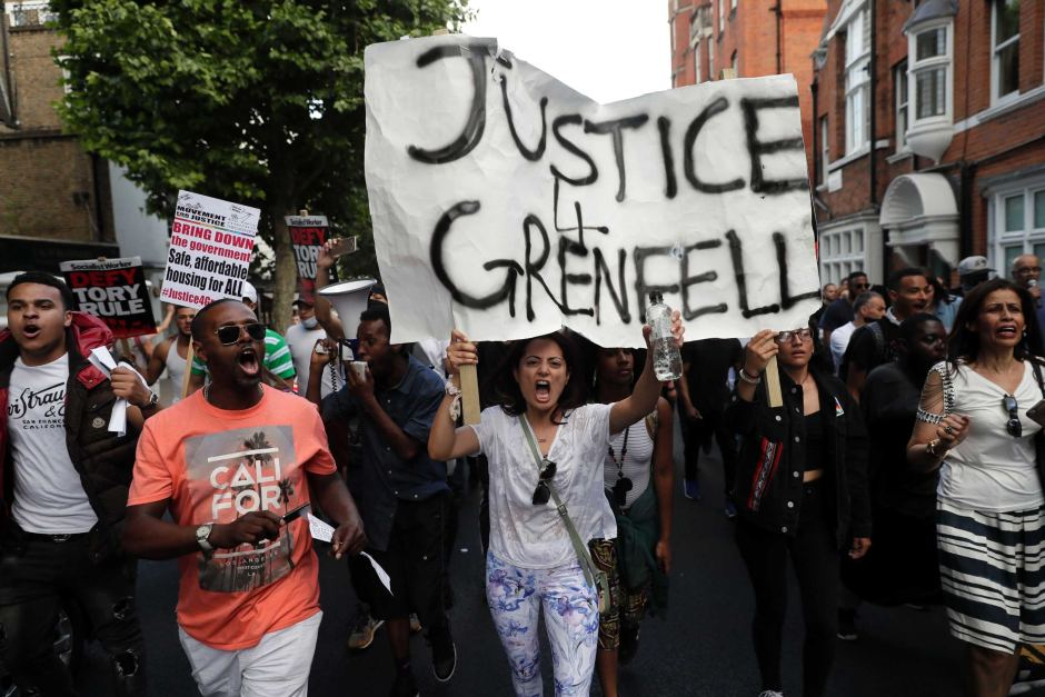 Image result for justice 4 grenfell