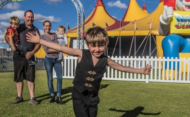 Young Daredevil Born For Circus Life And Bound For Globe