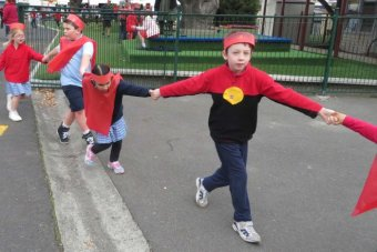 Moonah Primary School students celebrate NAIDOC