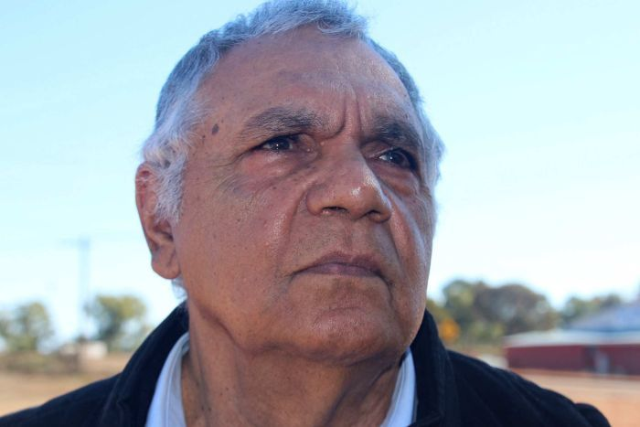 Kalgoorlie traditional elder and custodian Trevor Donaldson