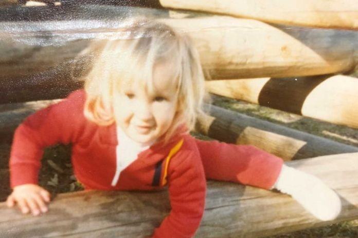 Childhood photo of Hayley Blease, child sex abuse victim
