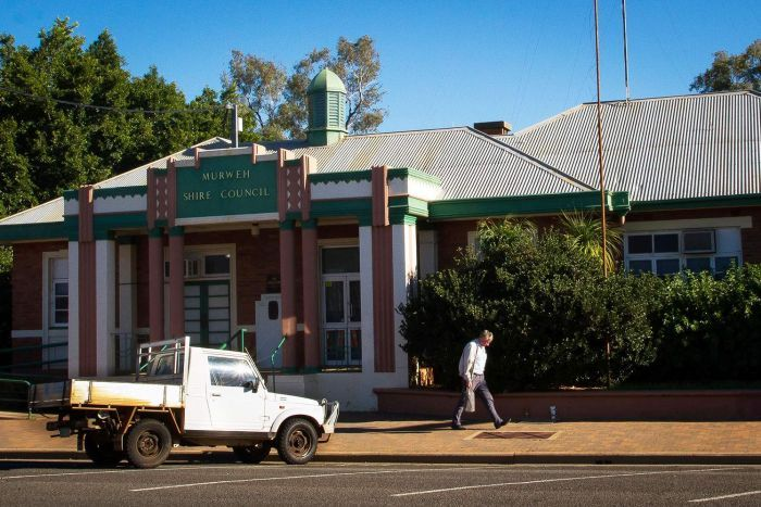 Murweh Shire Council building in Charleville in south-west Queensland.
