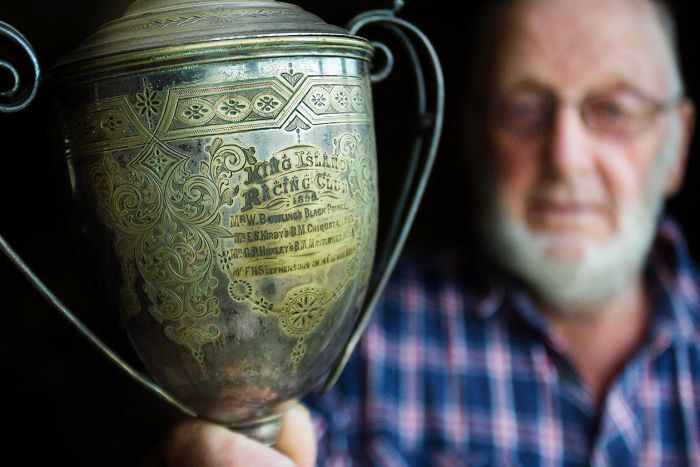The first King Island Cup from 1892