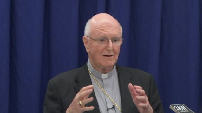 Denis Hart rejected calls for priests to be forced to break the seal of the confessional