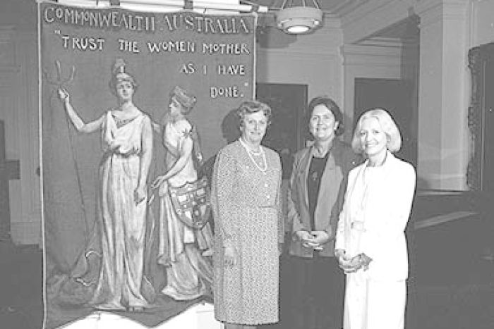 Female members of parliament including Florence Bjelke-Petersen