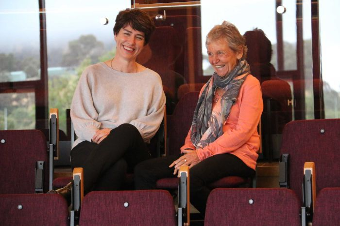 Alison Beare and Ulrike Klein at Ukaria.