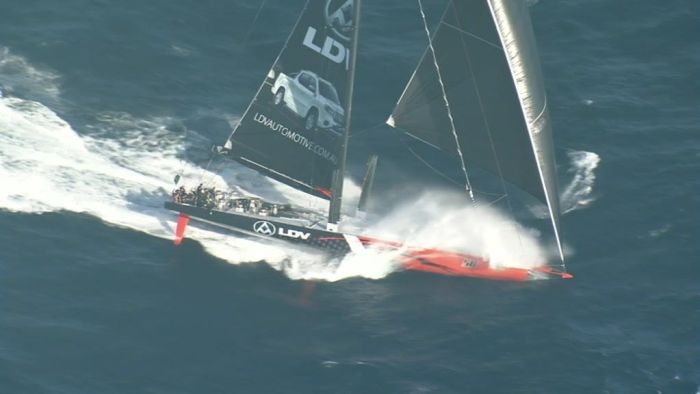 Leaders charge towards Hobart in record time