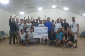 Manus detainees of Iranian descent