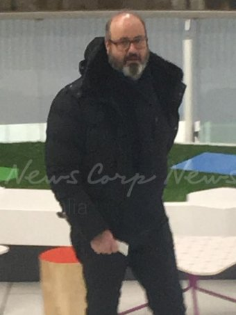 News Corp reports Clive Mensink was spotted last week in Sofia, Bulgaria as he left a cinema.
