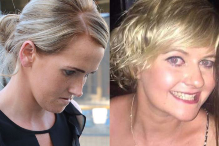 A composite picture of Aine Marie McGrath and fatal crash victim Sarah Kelly.