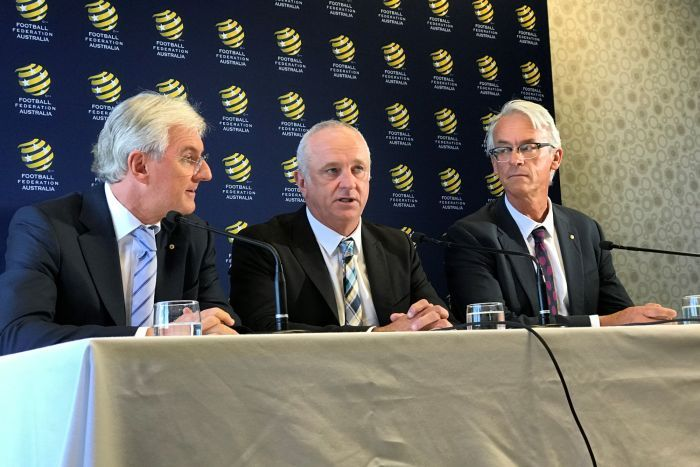 Graham Arnold unveiled as Socceroos coach