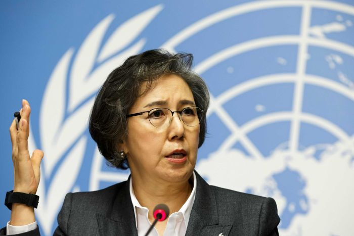 Photo of Yanghee Lee, Special Rapporteur on the situation of human rights in Mayanmar.