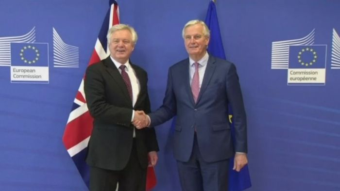 Britain and EU announce agreement on Brexit transition terms