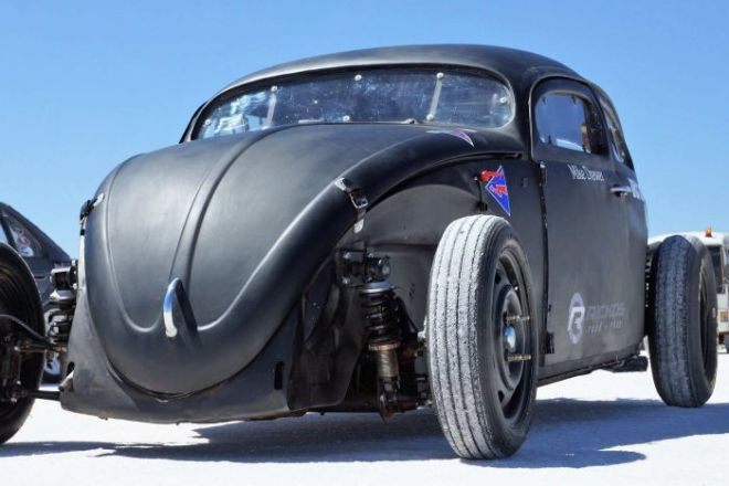 Mike Dewer's VW Beatle