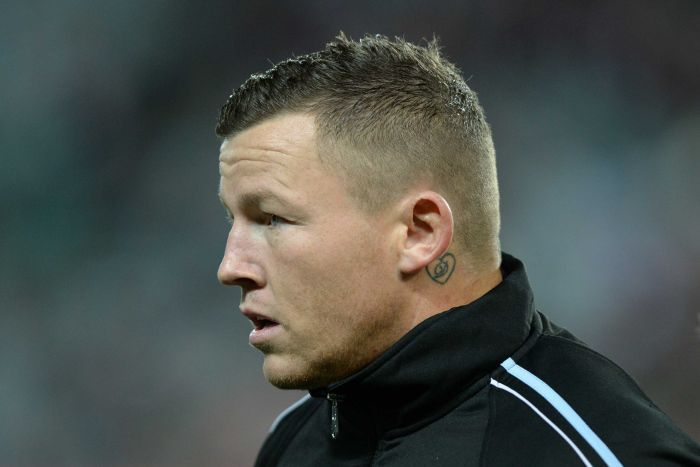 A profile picture of Todd Carney whose potential move to North Sydney Bears has been blocked by NRL club South Sydney Rabbitohs