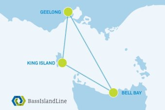 King Island ferry route