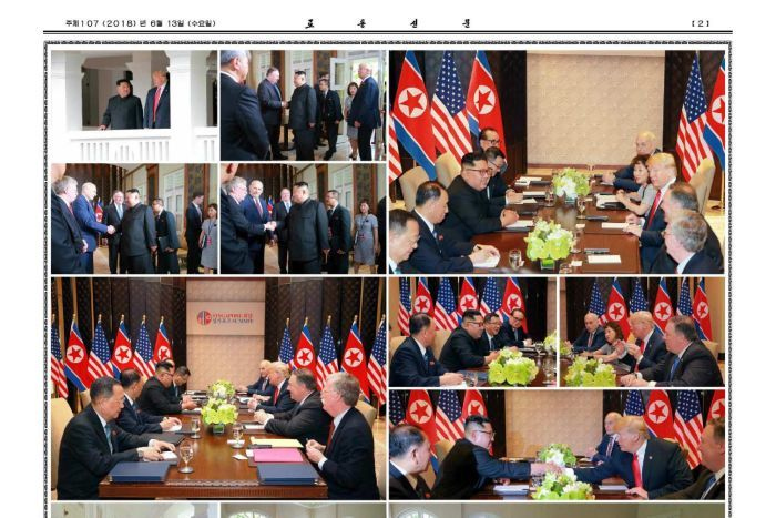 A full page of photos from the summit.
