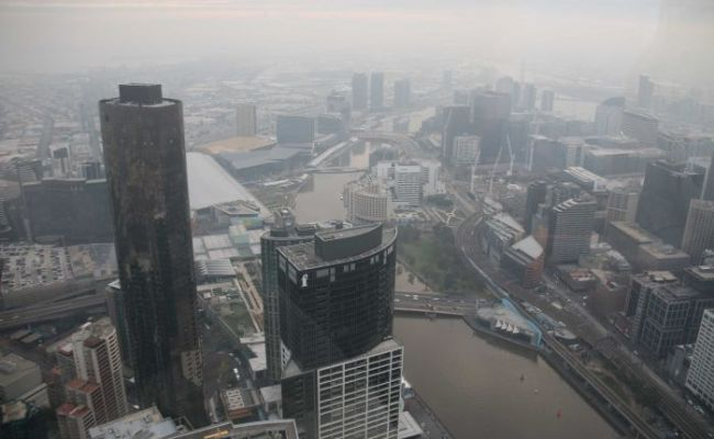 Melbourne S Fog Is Actually Particulate Pollution Abc