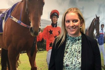 Charlotte Mills from Racing and Wagering WA