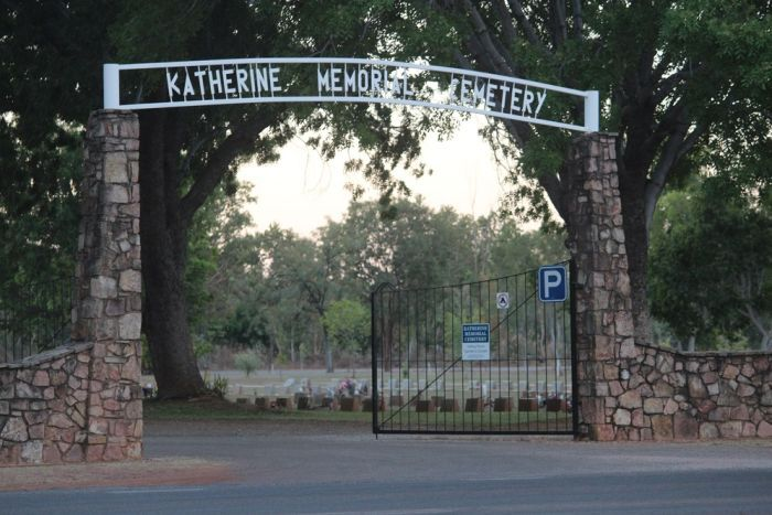 The entrance to the Katherine Town Council