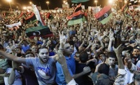 Thousands celebrate in Benghazi