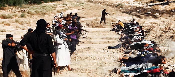 Militants execute members of Iraqi security forces