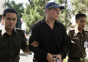 Sydney man Matthew Norman and the rest of the 'Malasti three' previously had their sentences increased to the death penalty. (File photo)