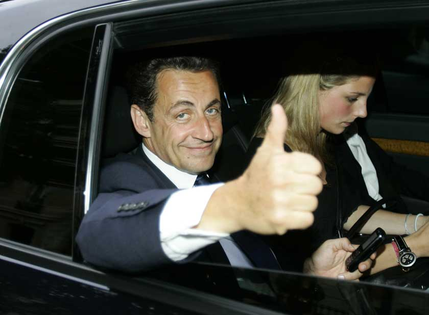 Sarkozy Thumbs Up to Holocaust Education