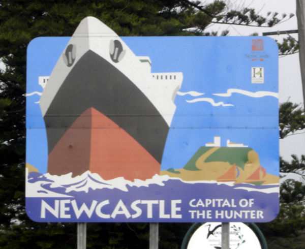 Newcastle Sign