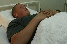 Extra sleep can have the same effect on pain as a dose of codeine (File photo).