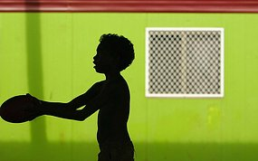 In Mt Isa, Aboriginal children are recording higher blood lead levels than non-Aboriginal children (file photo)