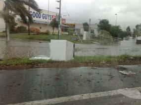 Flood leaves debris around Mackay