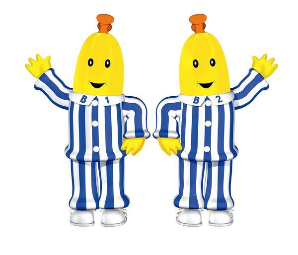 bananas in pyjamas touring bendigo