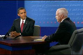 The final debate was at Hofstra University in Hempstead, New York