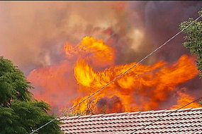 Carrum Downs Fire from ABC.net.au