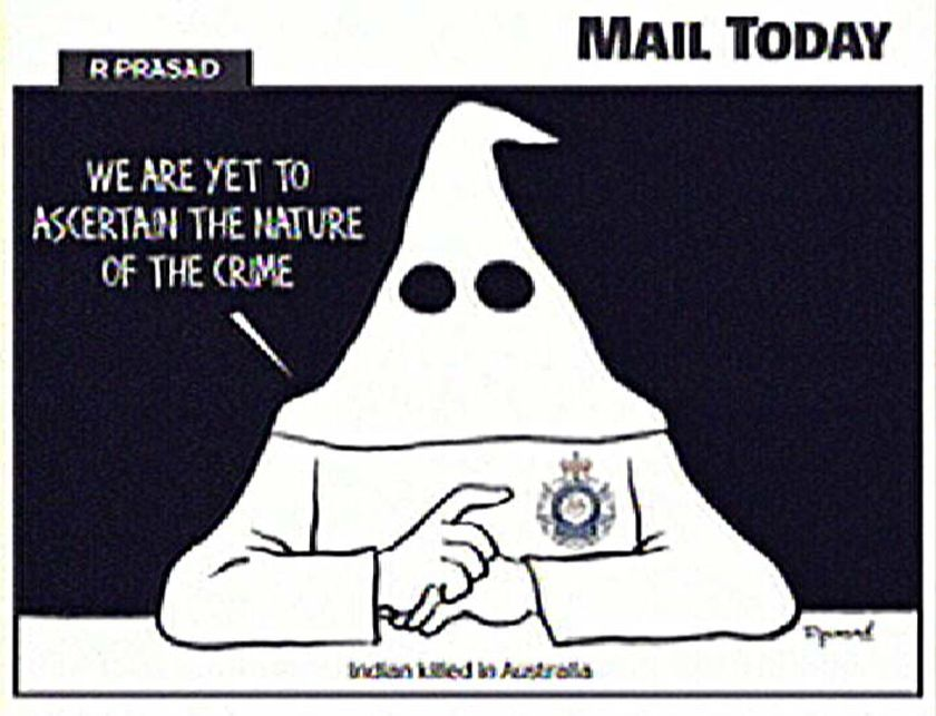 Truth hurts, huh? This Indian cartoon got Australian goat!