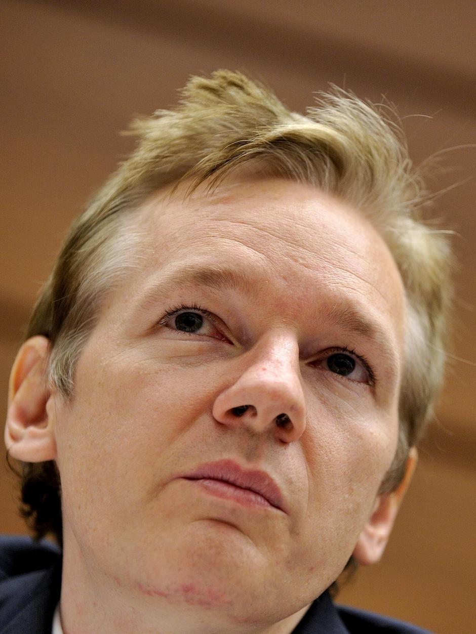 Julian Assange, dono do Wikileaks