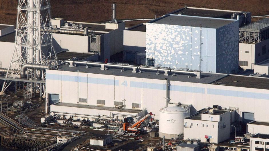Quake-damaged Fukushima nuclear plant