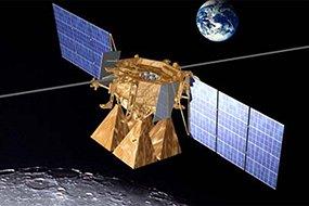 Artist's concept of Luna-Glob mission (NASA)