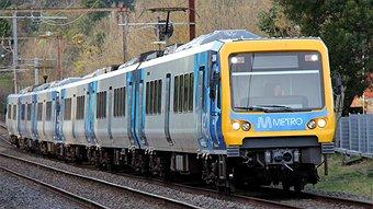 Metro Train in Melbourne