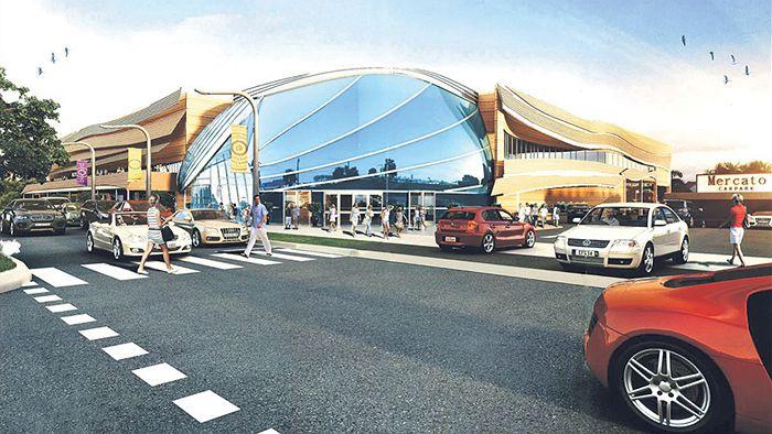 Shopping mall proposal for Jonson Street, Byron Bay,
