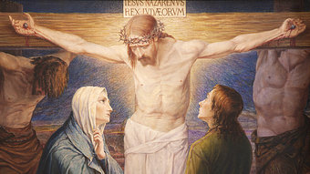 Image result for mary at the foot of the cross