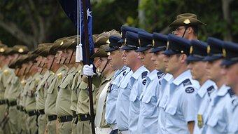 Australia Day Flag Raising Ceremony ABC Melbourne