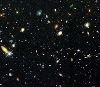 The Hubble Deep Field,